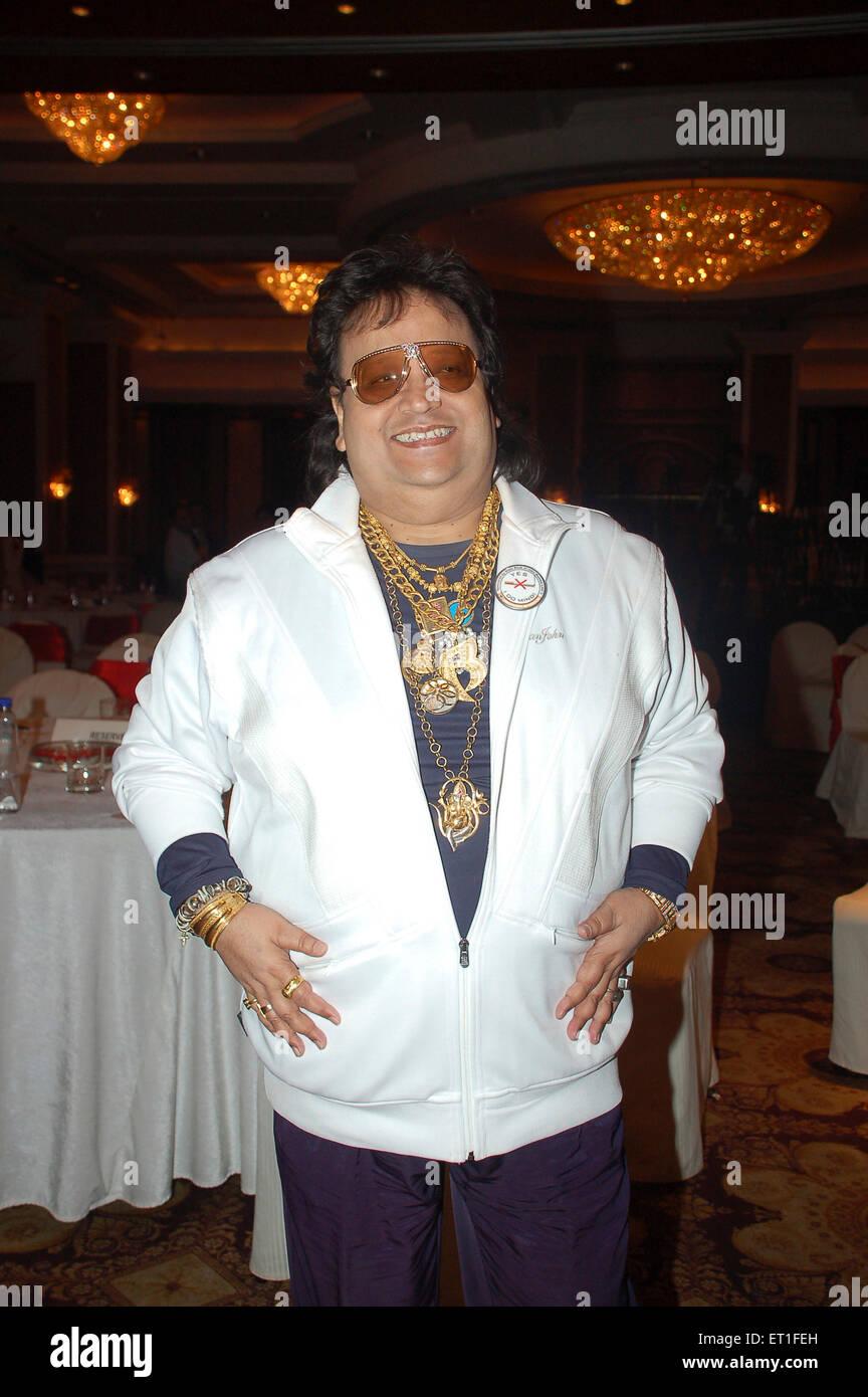 Music director bappi lahiri ; India NO MR - Stock Image