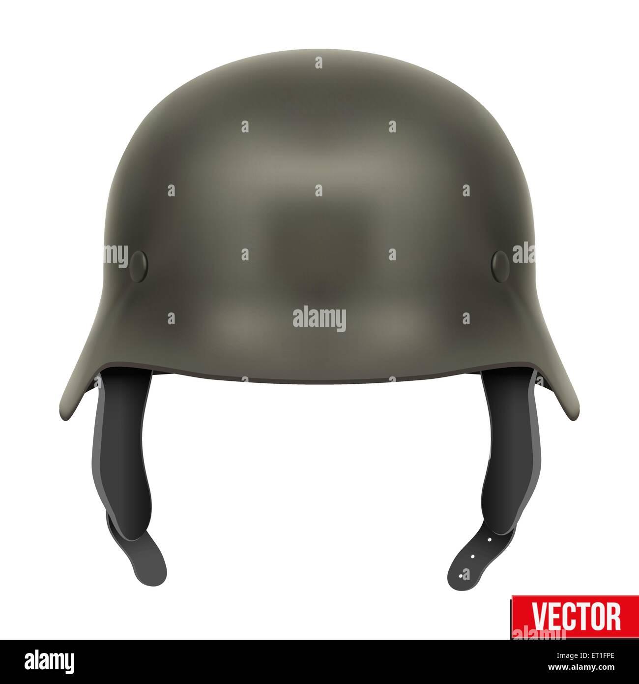 German Army helmet - Stock Vector