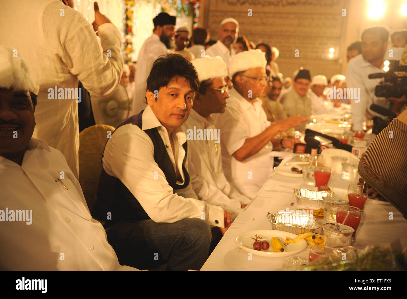 Actor and member of Indian national congress Shekhar Suman ; India NO MR - Stock Image