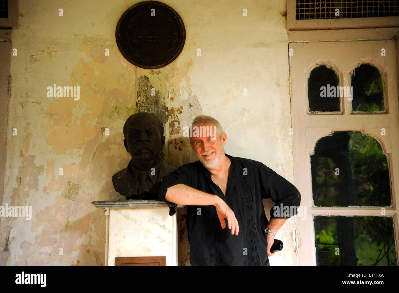 Actor Tom Alter ; India NO MR - Stock Image