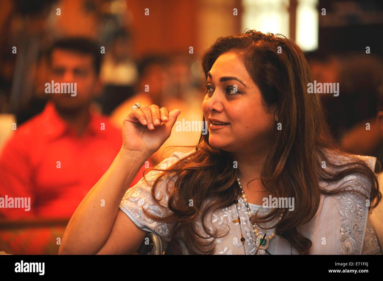 Tina Ambani NO MR - Stock Image