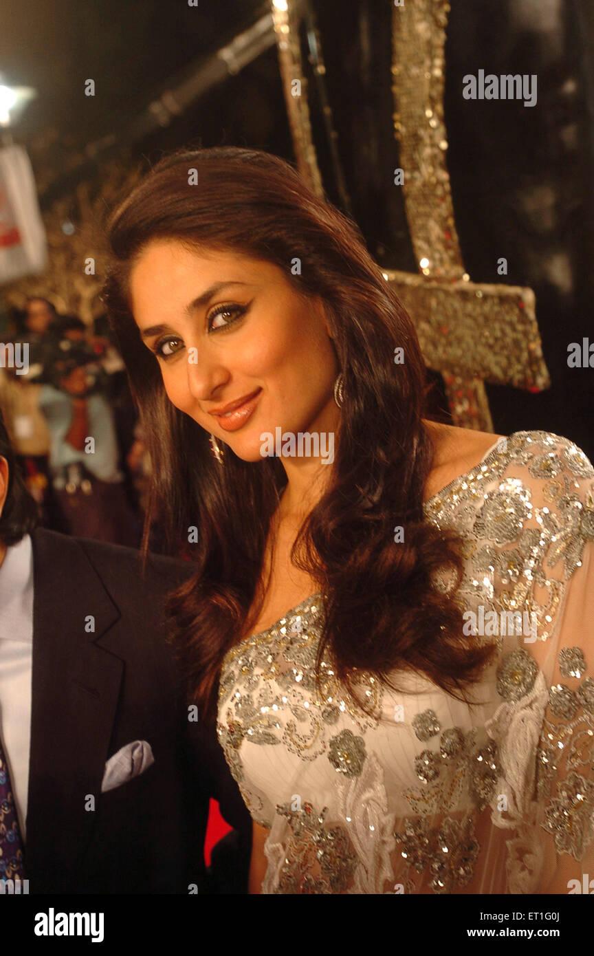 bollywood actress kareena kapoor stock photos & bollywood actress