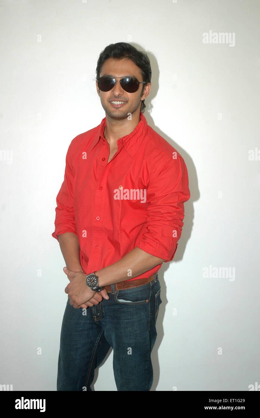 Actor vatsal seth ; India NO MR - Stock Image