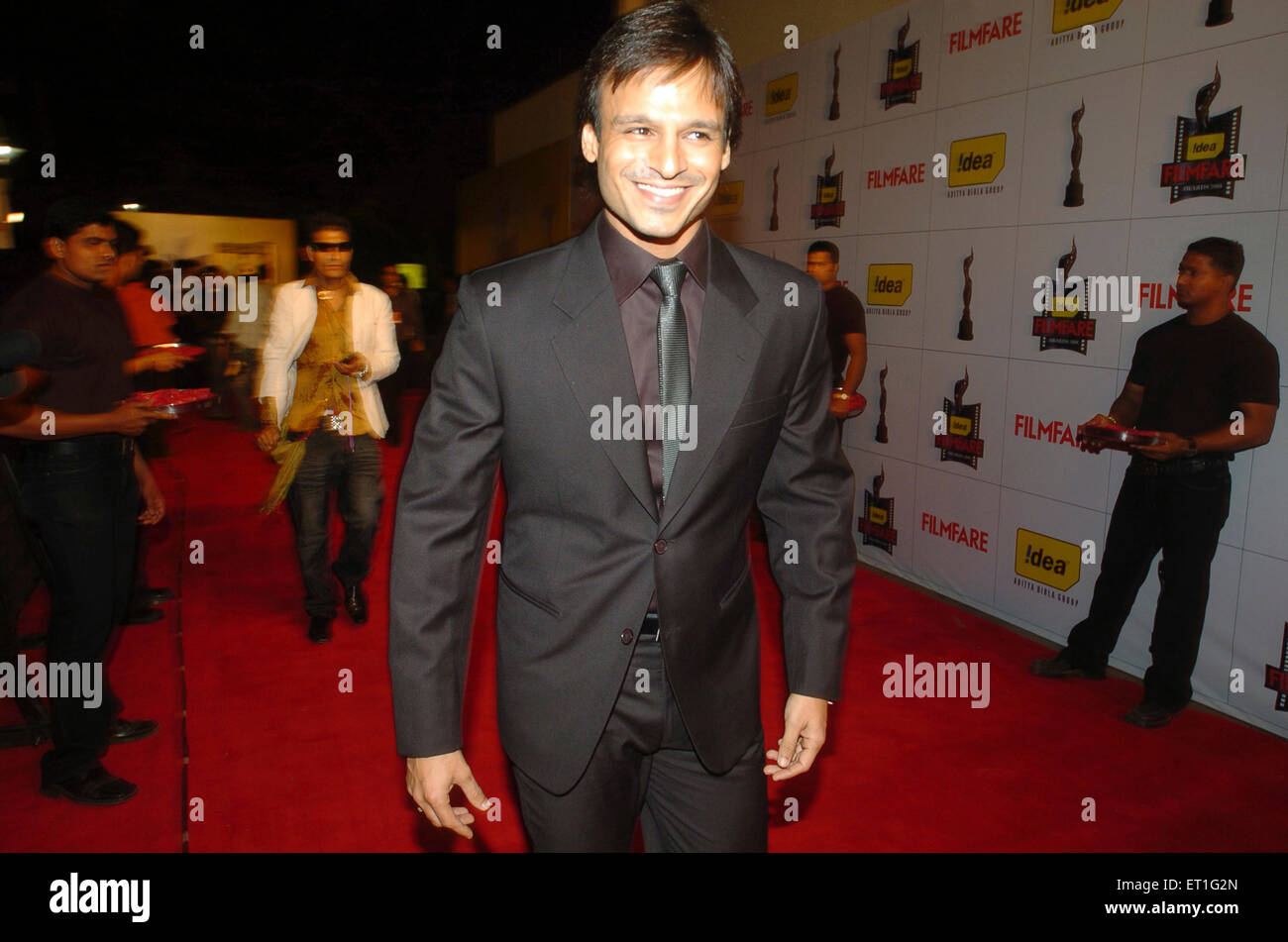 Actor vivek oberoi ; India NO MR Stock Photo