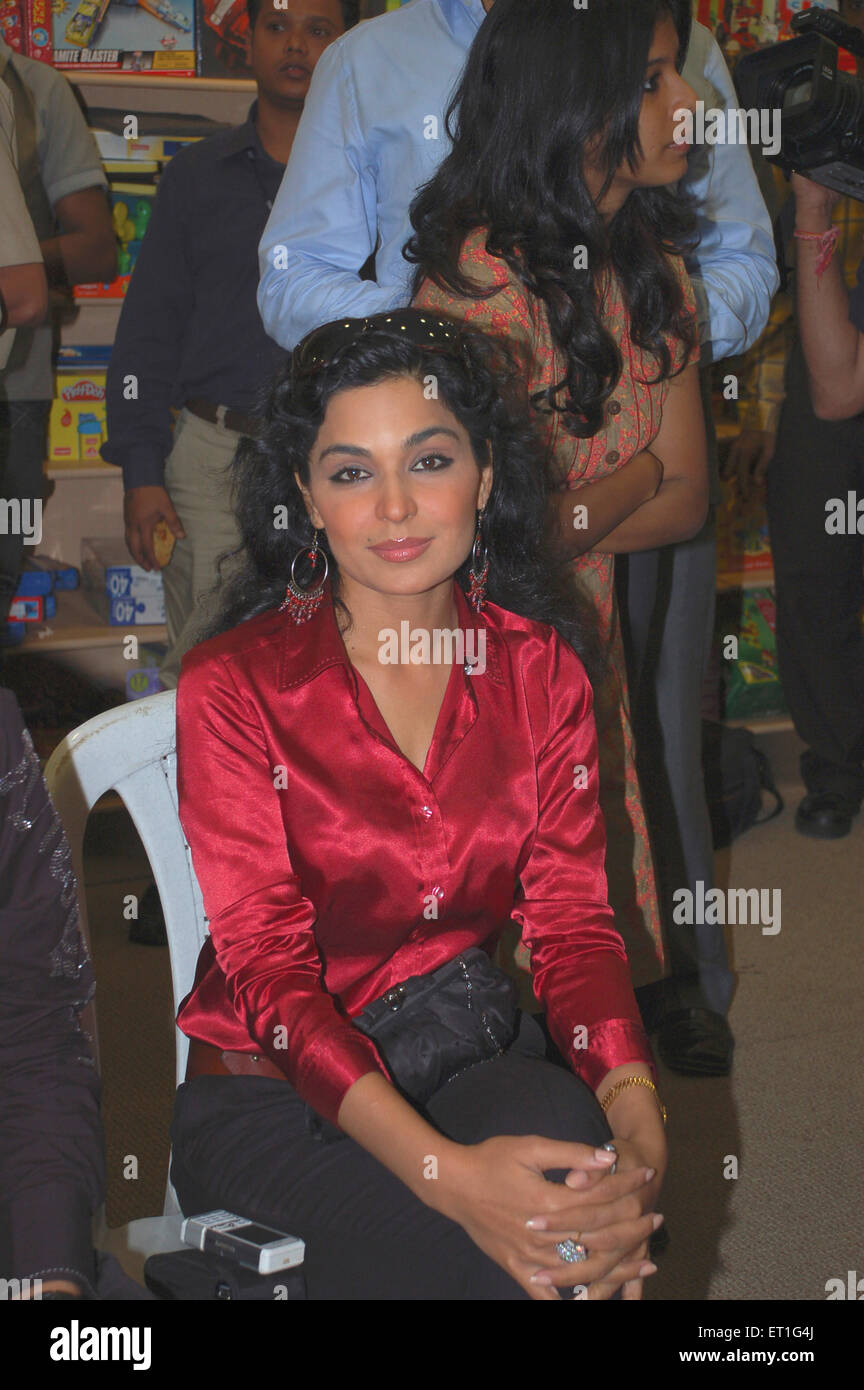 Pakistani actress meera mira pak ; India NO MR - Stock Image