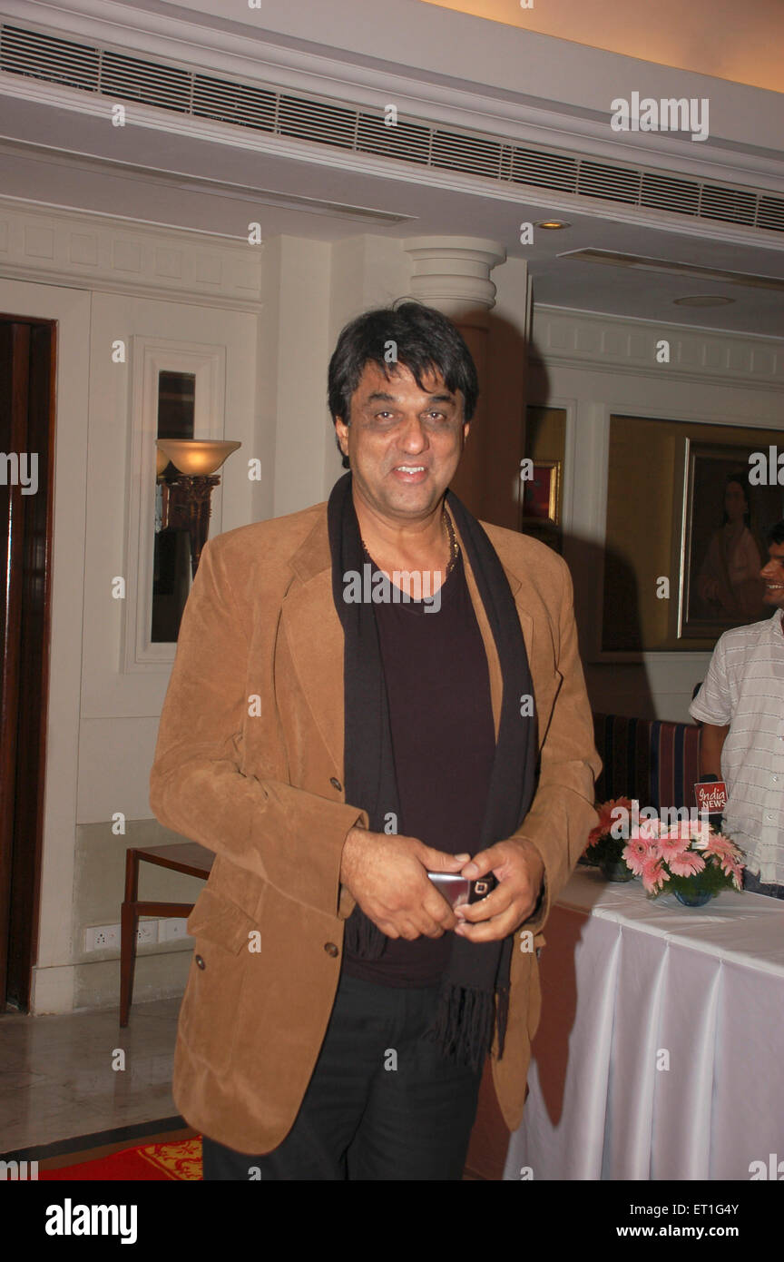 Actor mukesh khanna ; India NO MR Stock Photo