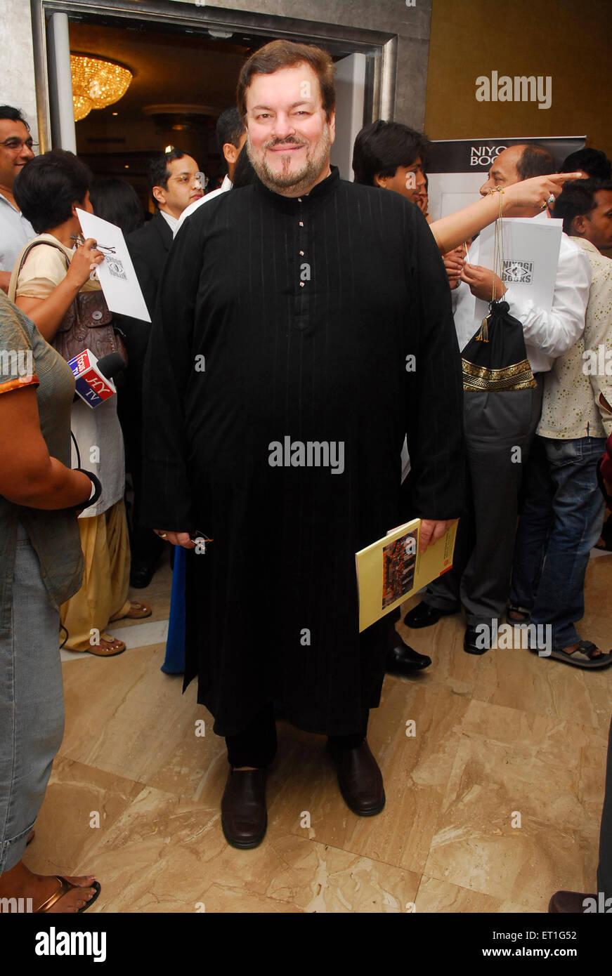 Singer nitin mukesh mathur ; India NO MR - Stock Image