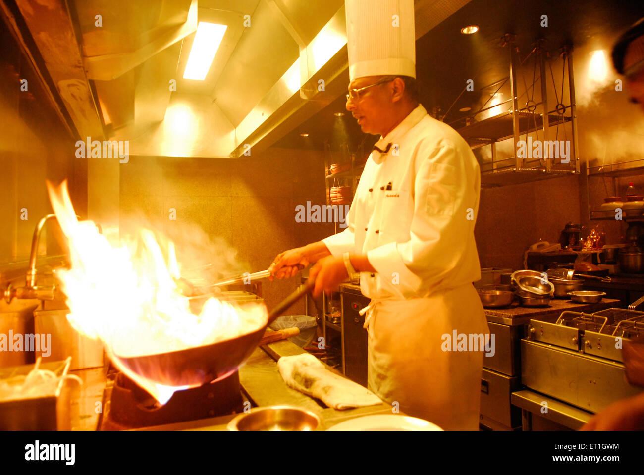 Chef ananda solamac ; India NO MR - Stock Image