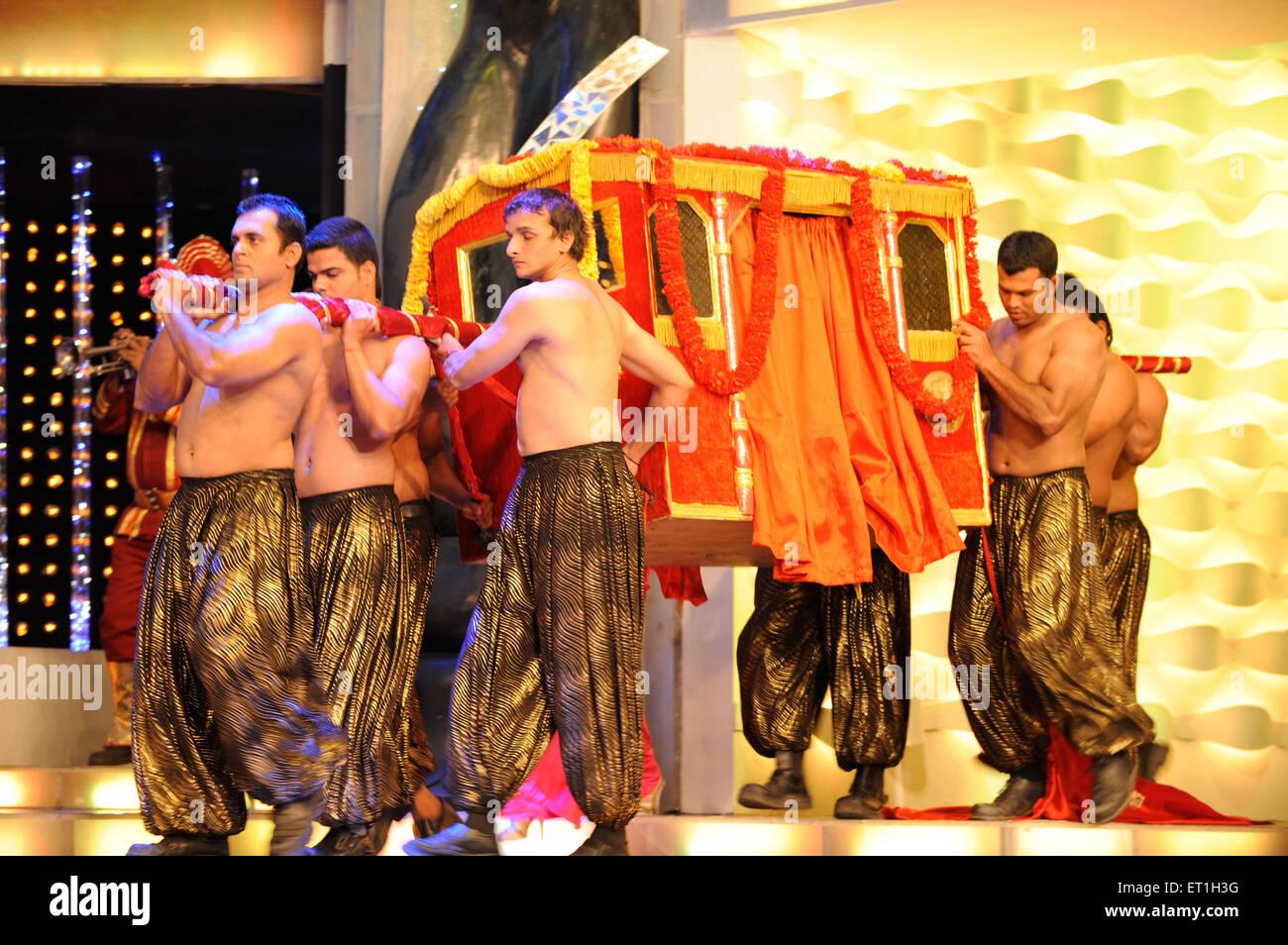 Stage performances ; Bombay Mumbai ; Maharashtra ; India 2009 NO MR - Stock Image