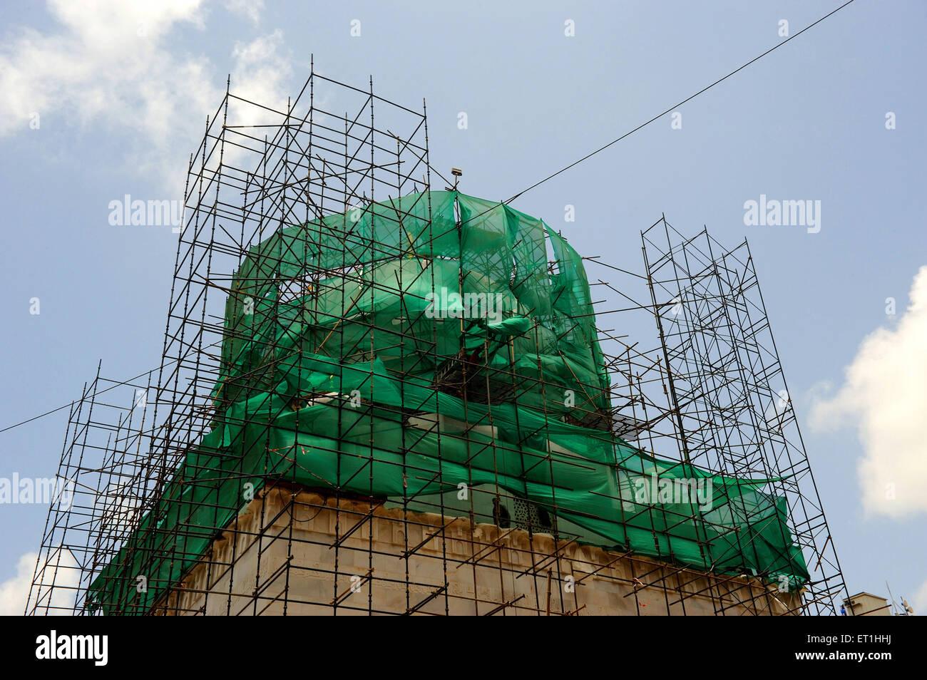 Building under construction ; Bombay Mumbai ; Maharashtra ; India Stock Photo