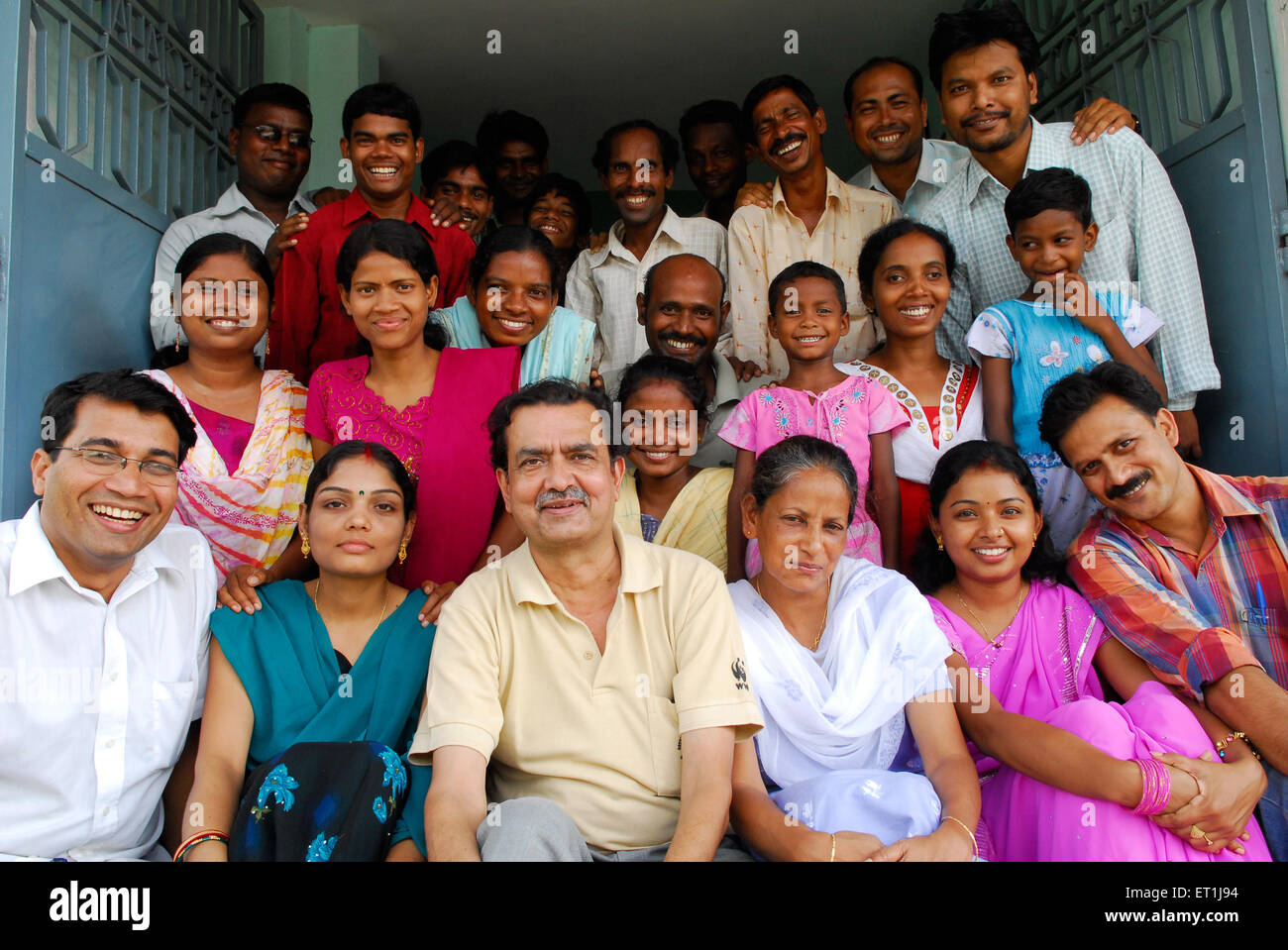 Volunteers ; Chakradharpur ; Jharkhand ; India NO MR - Stock Image