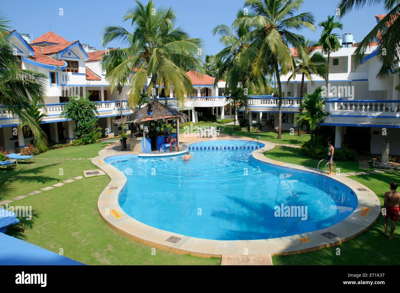 Royal goan beach club at benaulim ; Goa ; Maharashtra ; India 25 9 2010 NOPR - Stock Image