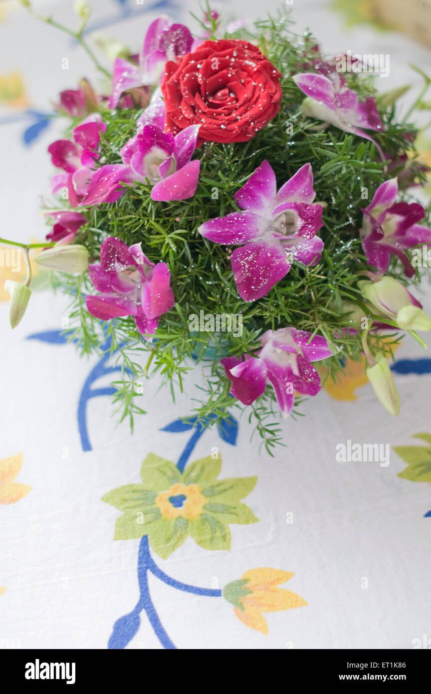 India Flower Bouquet Stock Photos India Flower Bouquet Stock
