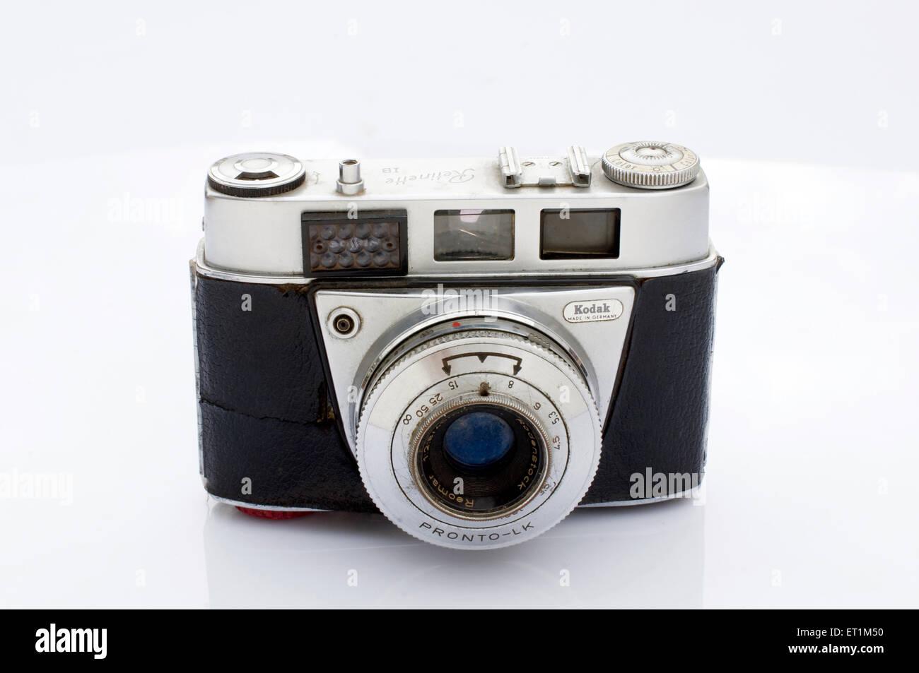 A Kodak Retinette 1B film camera Pune Maharashtra India Asia - Stock Image