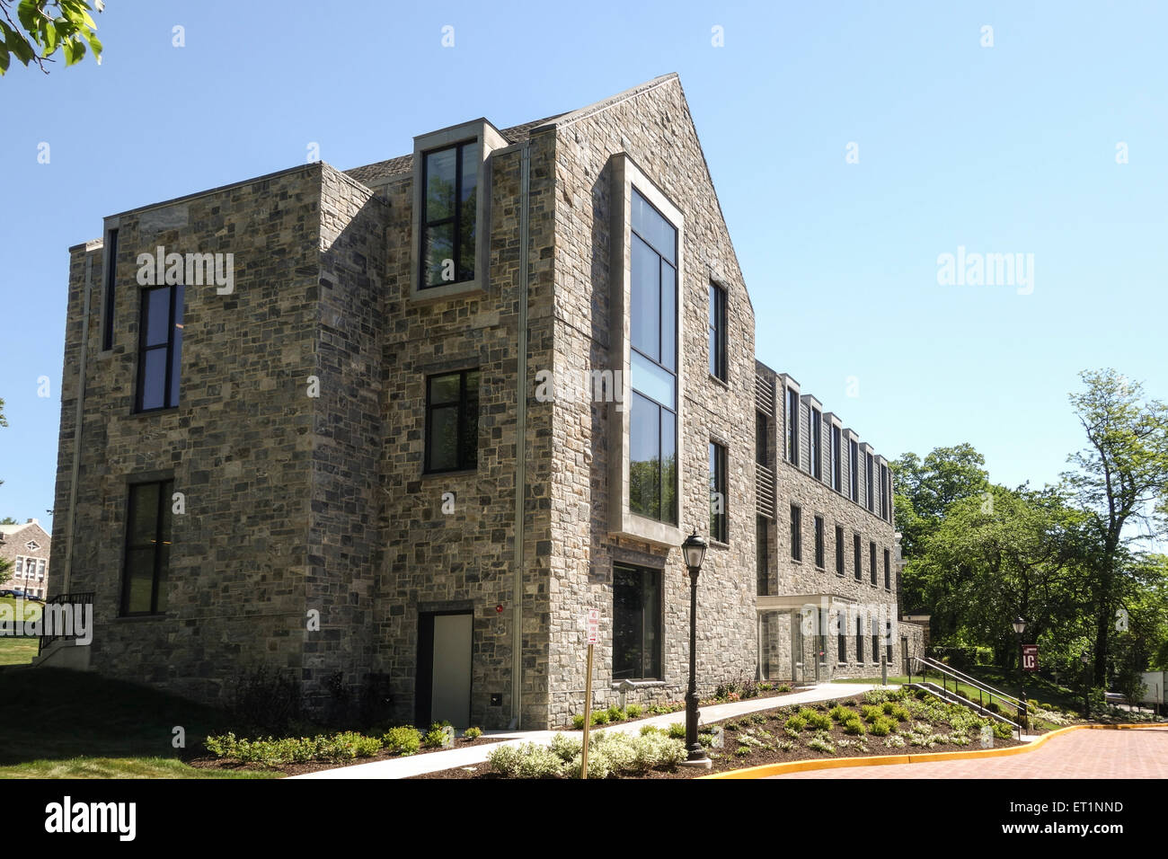 Oechsle Center for Global Education, Lafayette College, private liberal arts college, Easton, Pennsylvania, USA. - Stock Image