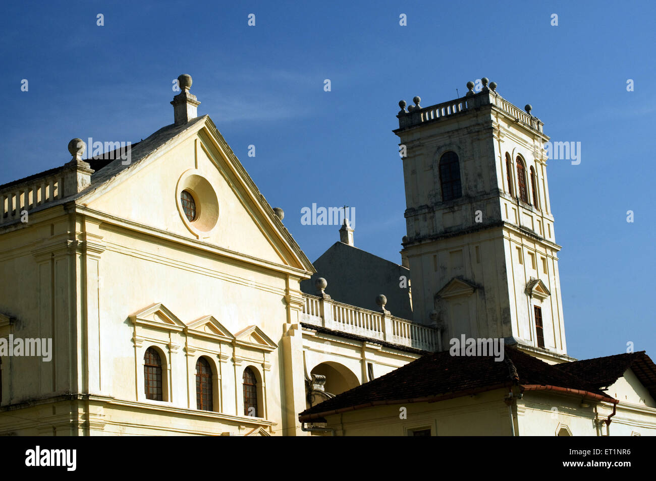Se cathedral ; Old Goa ; India - Stock Image