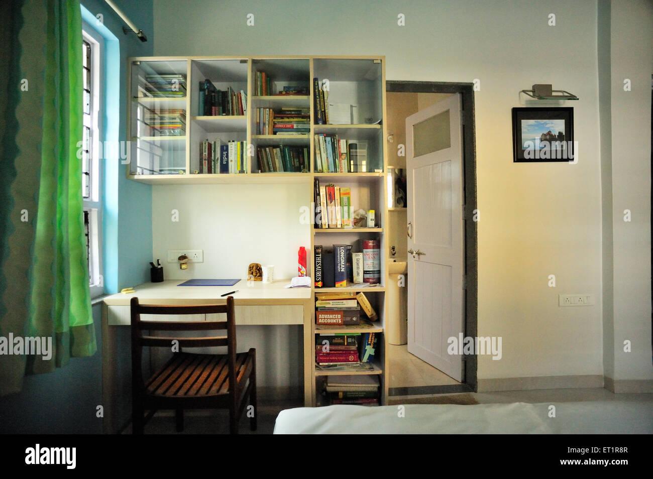 Study room - Stock Image
