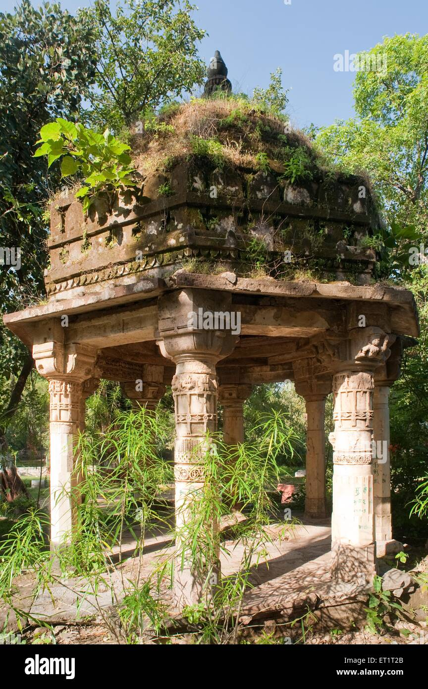 Tomb in sabarkantha Gujarat India Asia - Stock Image