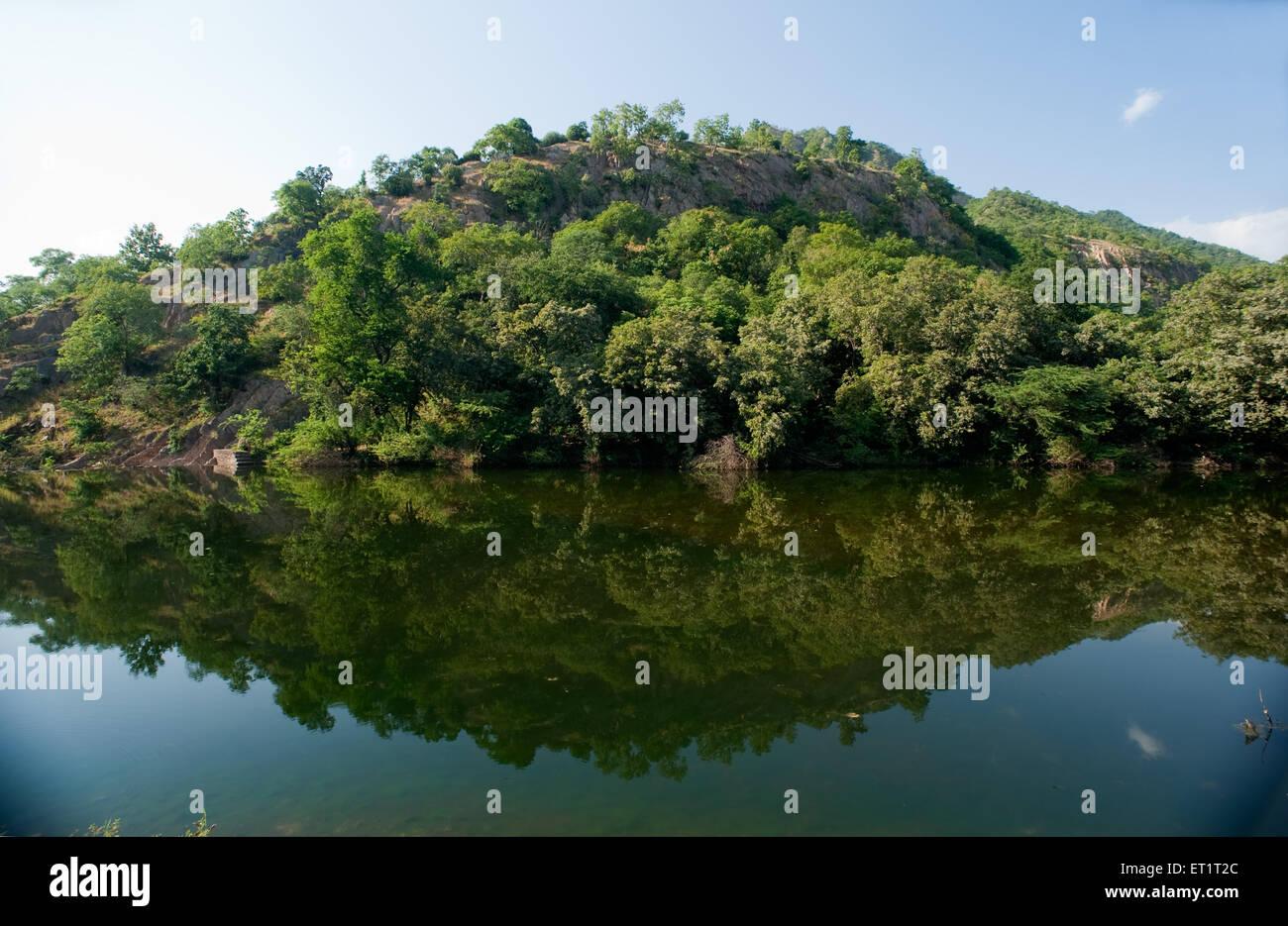 Mountain sabarkantha Gujarat India Asia - Stock Image