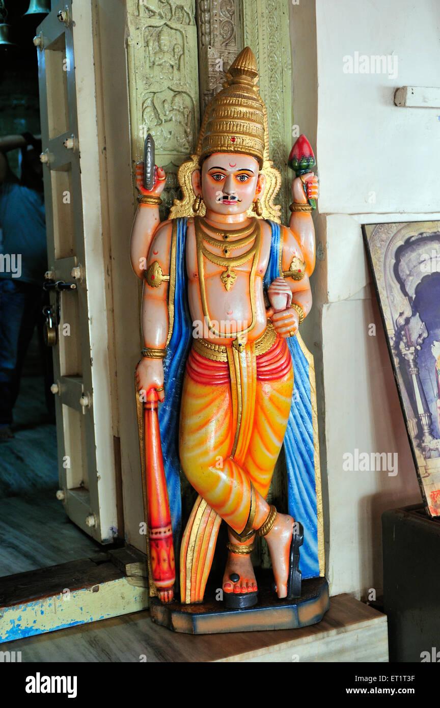 Guards at rameshvar temple sindhudurga Maharashtra India Asia - Stock Image