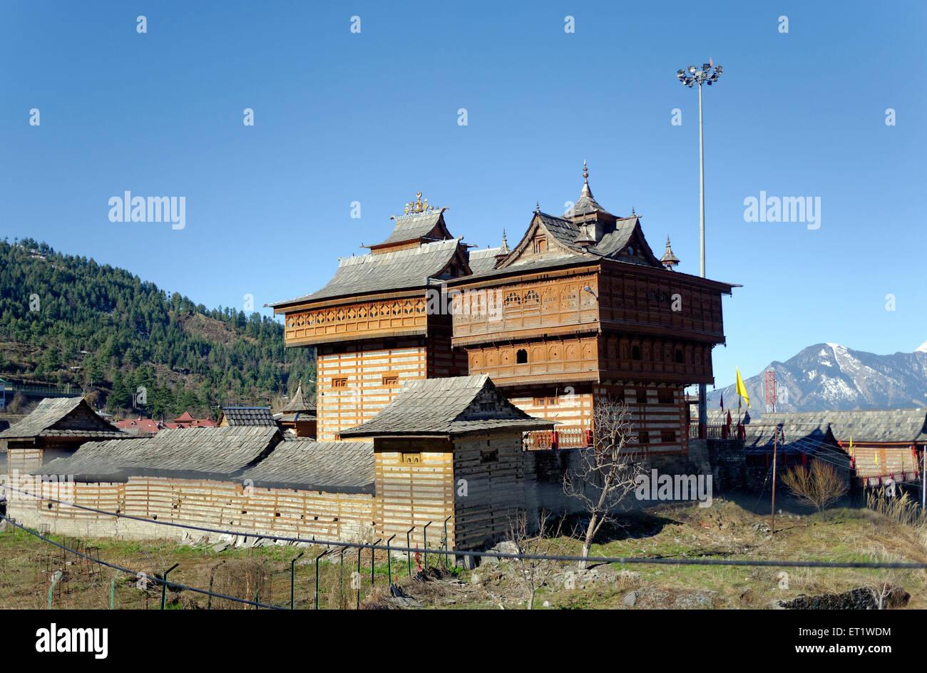 Bhima Kali Temple in Sarahan at Himachal Pradesh India - Stock Image