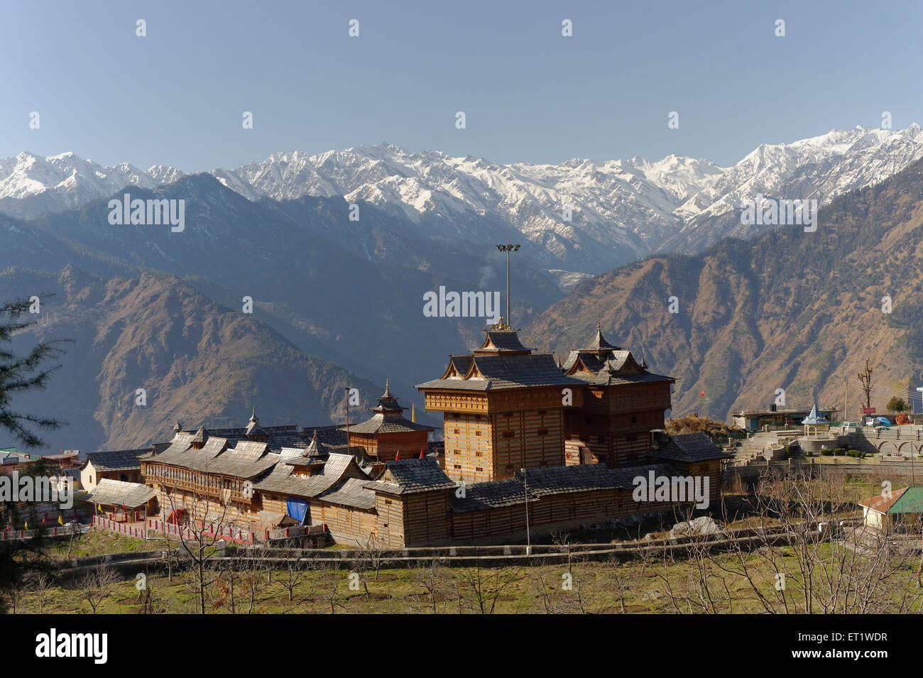 Bhima kali temple at sarahan himachal pradesh india Asia - Stock Image