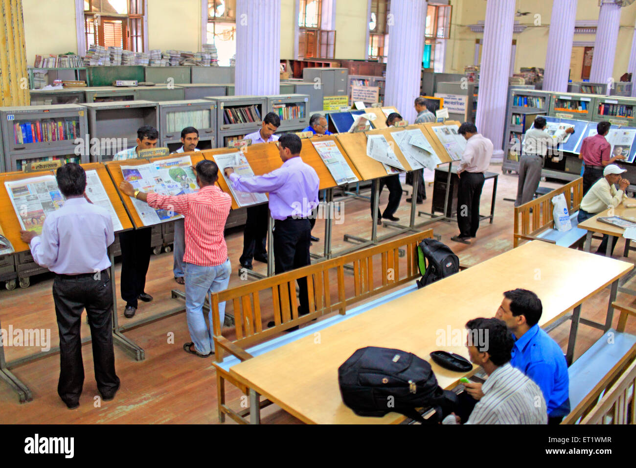 Asiatic Library at Mumbai Maharashtra India Asia - Stock Image