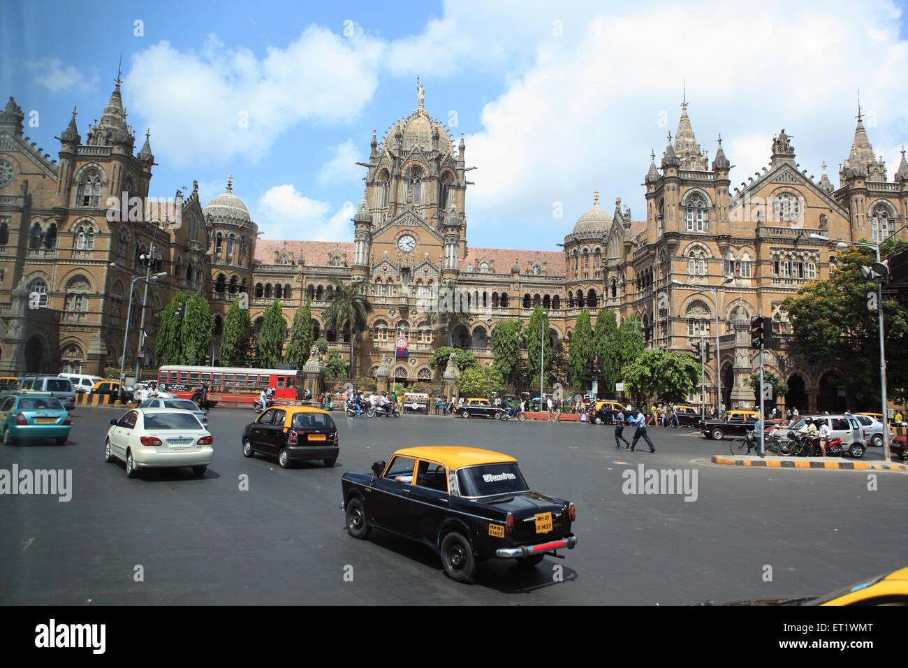 Chhatrapati Shivaji Terminus at Mumbai Maharashtra India Asia - Stock Image