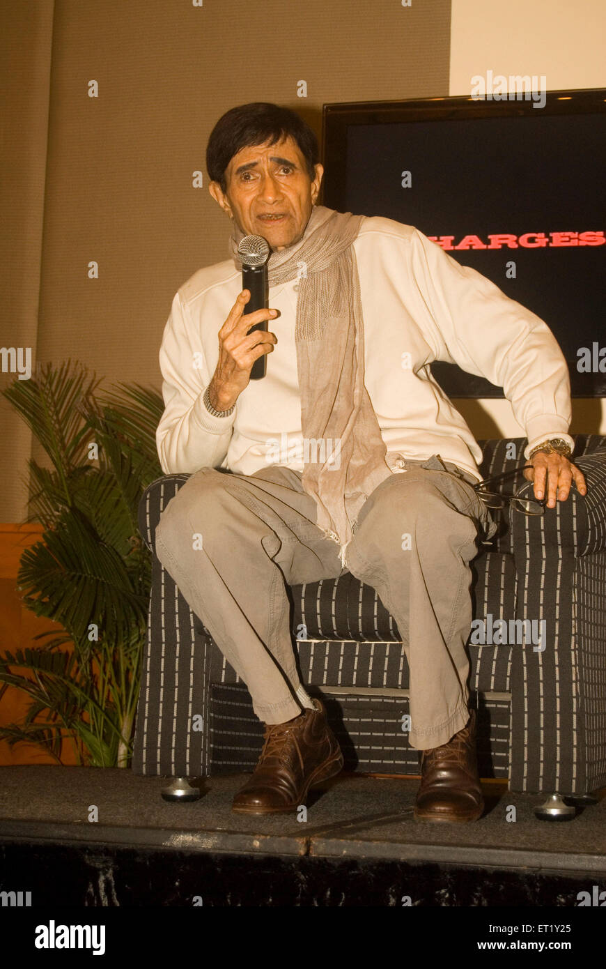 bollywood actor dev anand - Stock Image