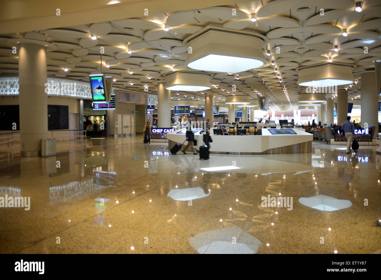 Terminal 2 Chhatrapati Shivaji International Airport CSIA mumbai Maharashtra India Asia - vca 190000 - Stock Image