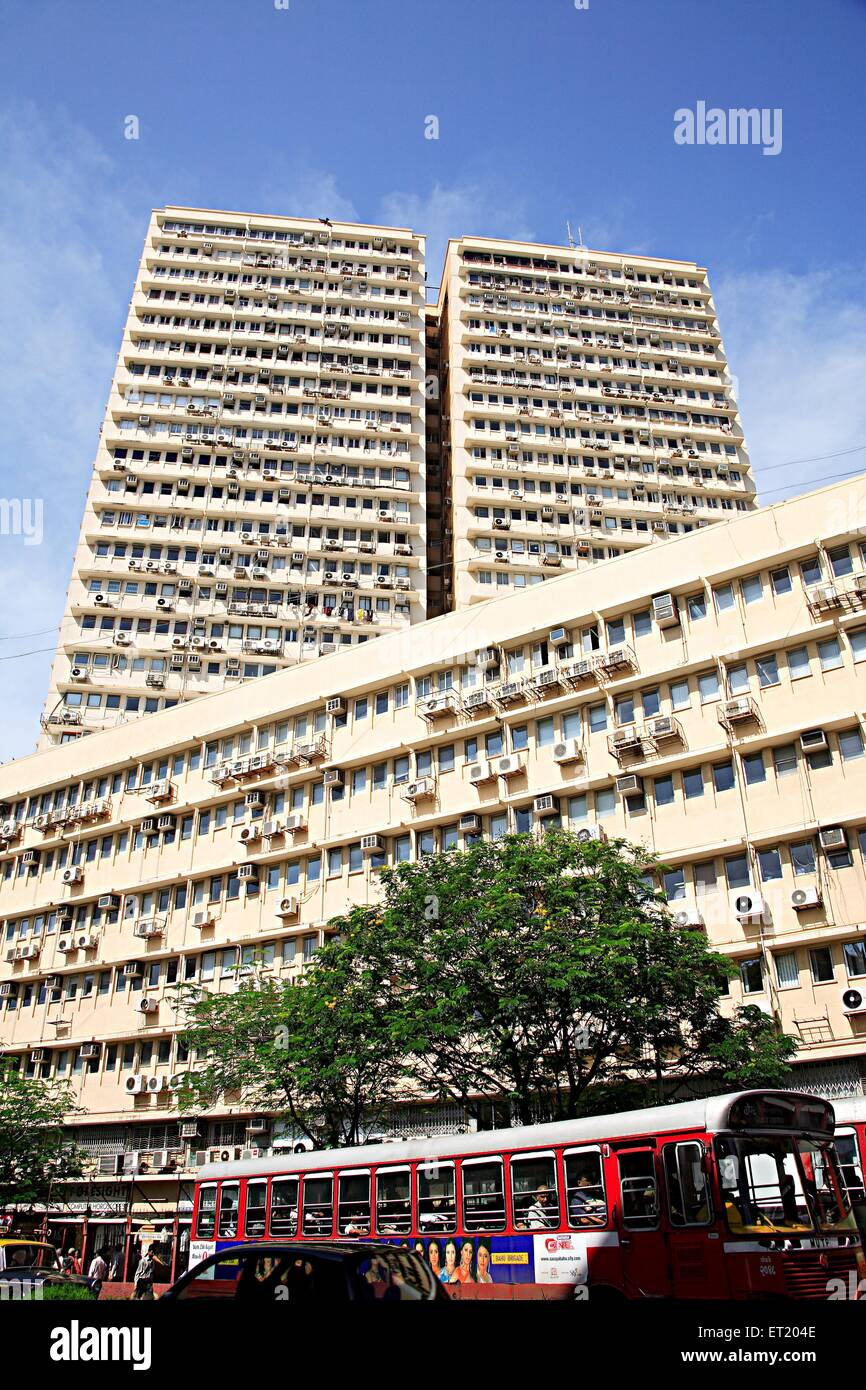Bombay diamond merchants association Panchratna building ; Charni road ; Bombay Mumbai ; Maharashtra ; India - Stock Image
