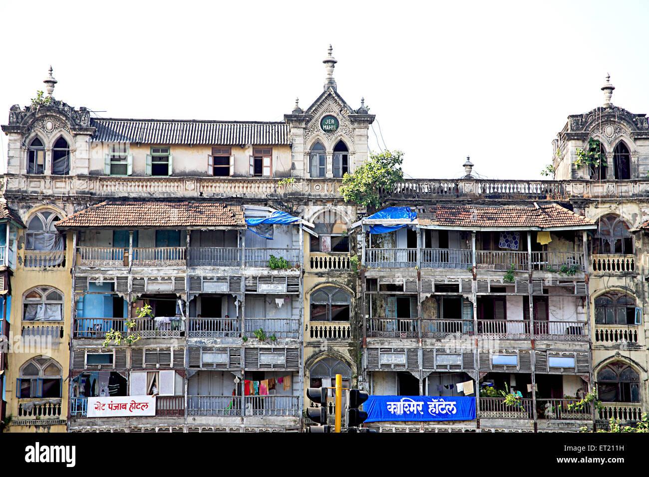 Old building Jer Mahal mass urban housing