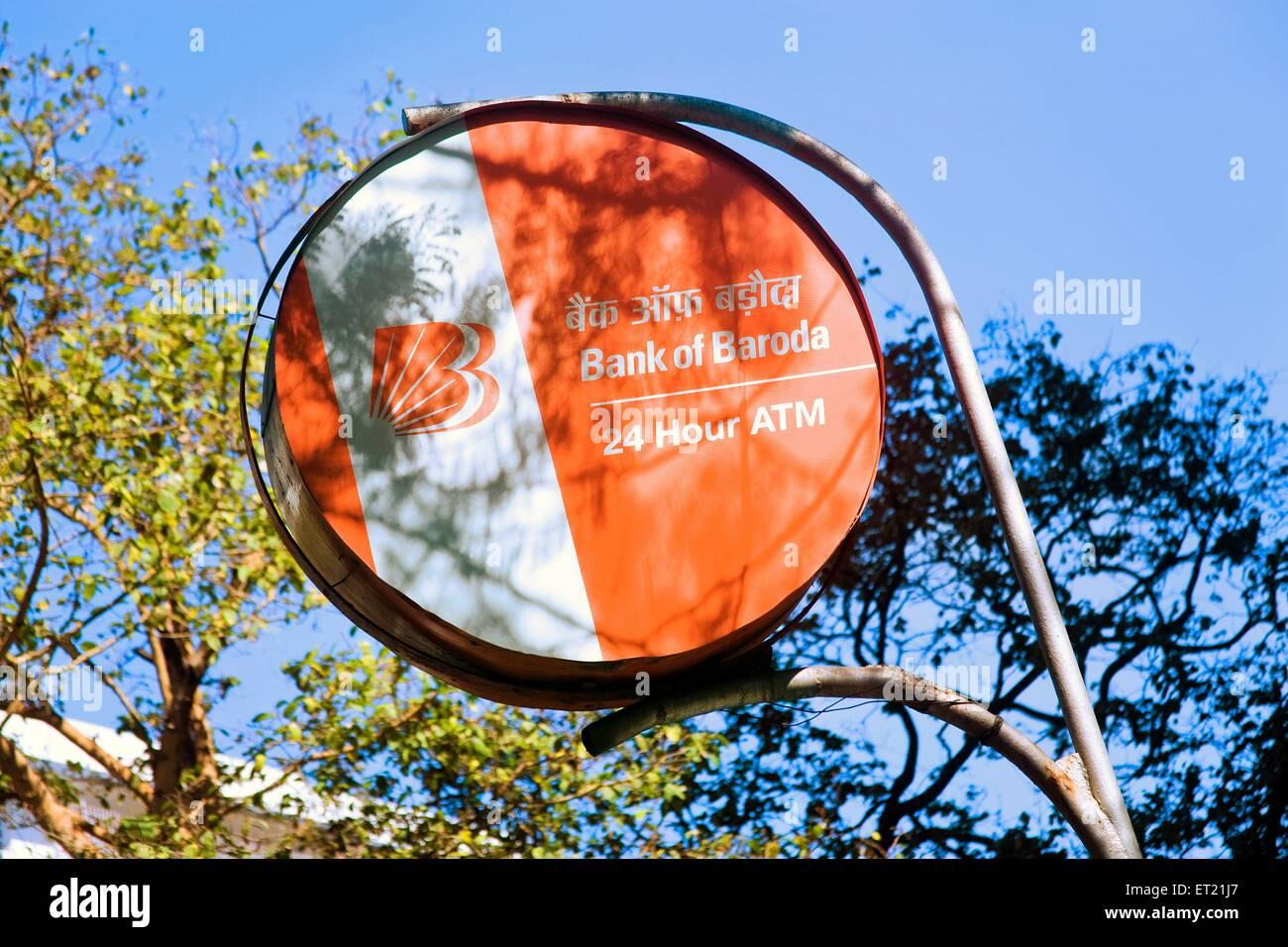 Signboard Mumbai Maharashtra India Asia Feb 2011 - Stock Image