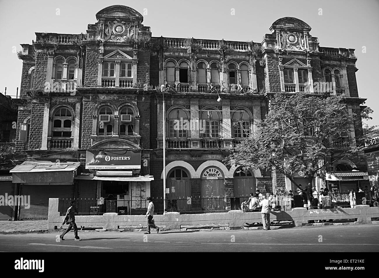 Capitol Cinema Hall Movie Theatre Mumbai Maharashtra India Asia - vhm 178376 - Stock Image