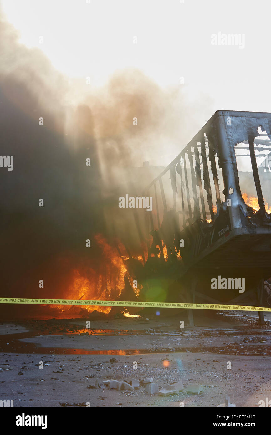 Fire Trailer Stock Photos & Fire Trailer Stock Images - Alamy