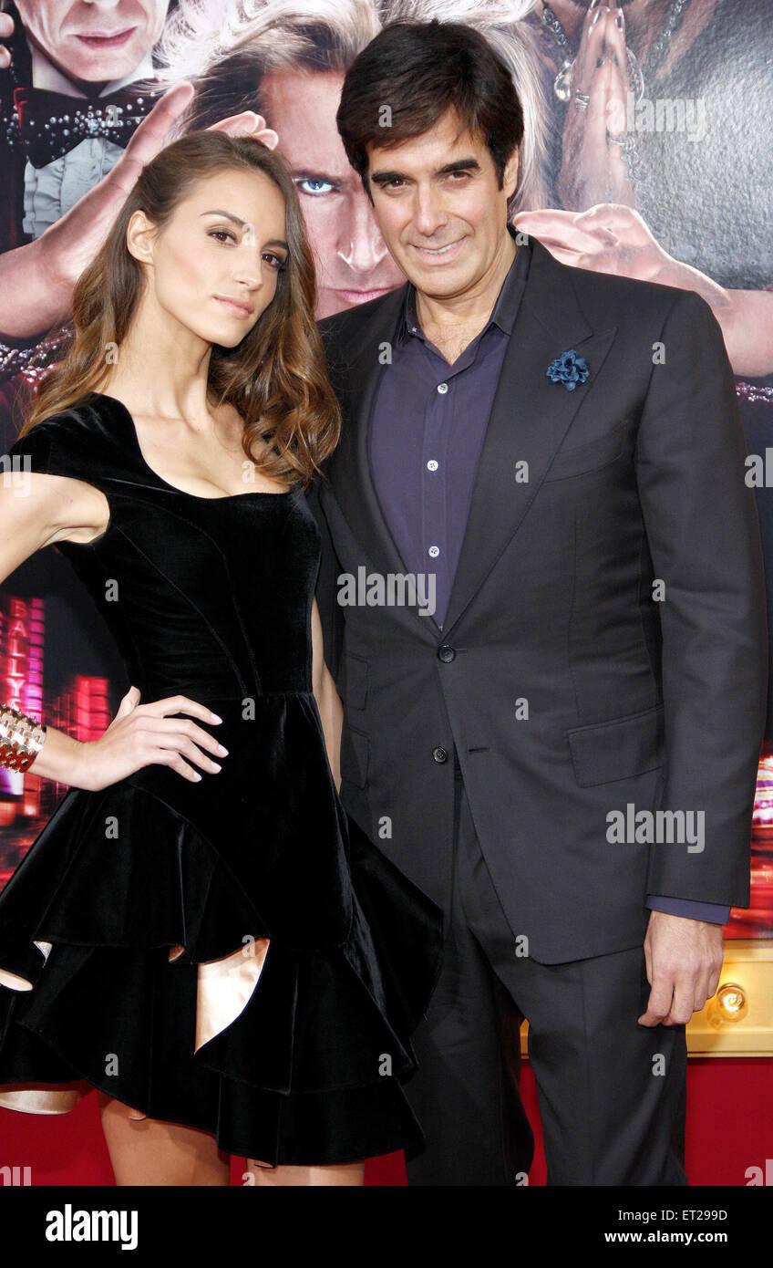 Chloe Gosselin And David Copperfield Stock Photos & Chloe Gosselin ...