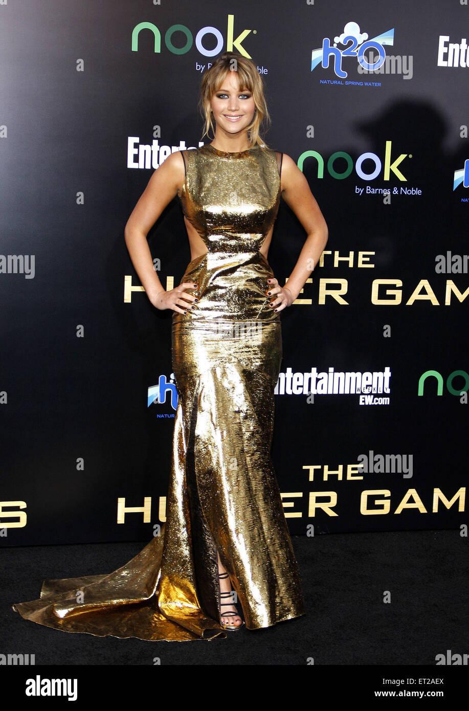 Jennifer Lawrence - Stock Image