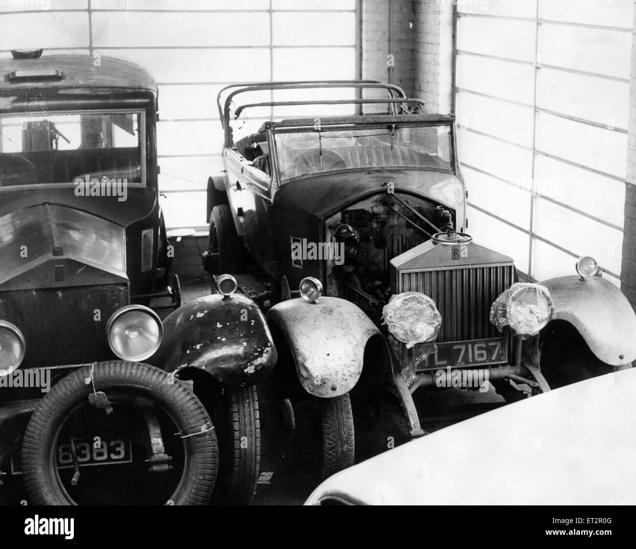 Veteran Rolls Royce, 22nd June 1966. - Stock Image