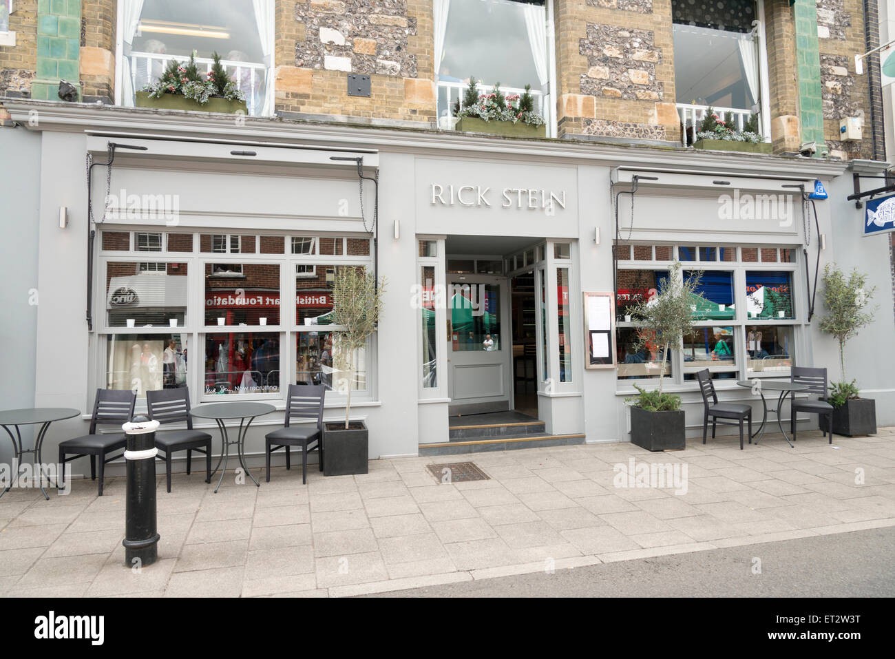 Rick Stein S Cafe And Restaurant In Winchester Uk Stock