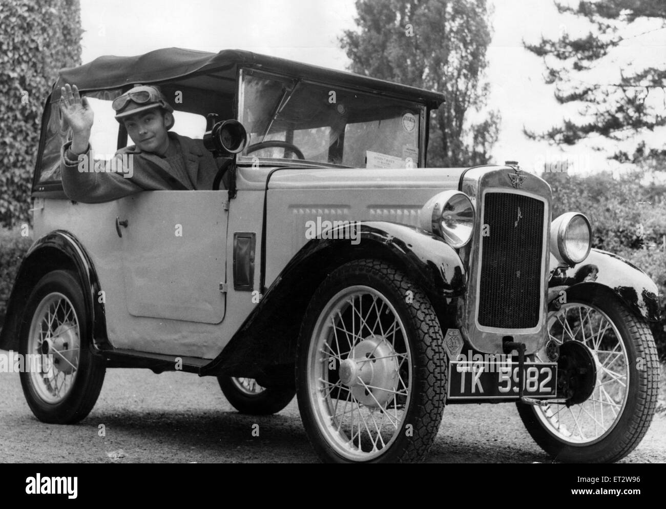1930 Austin Seven 'Chummy', owned by Adrian Humphreys of Middlesbrough, 28th June 1967. - Stock Image