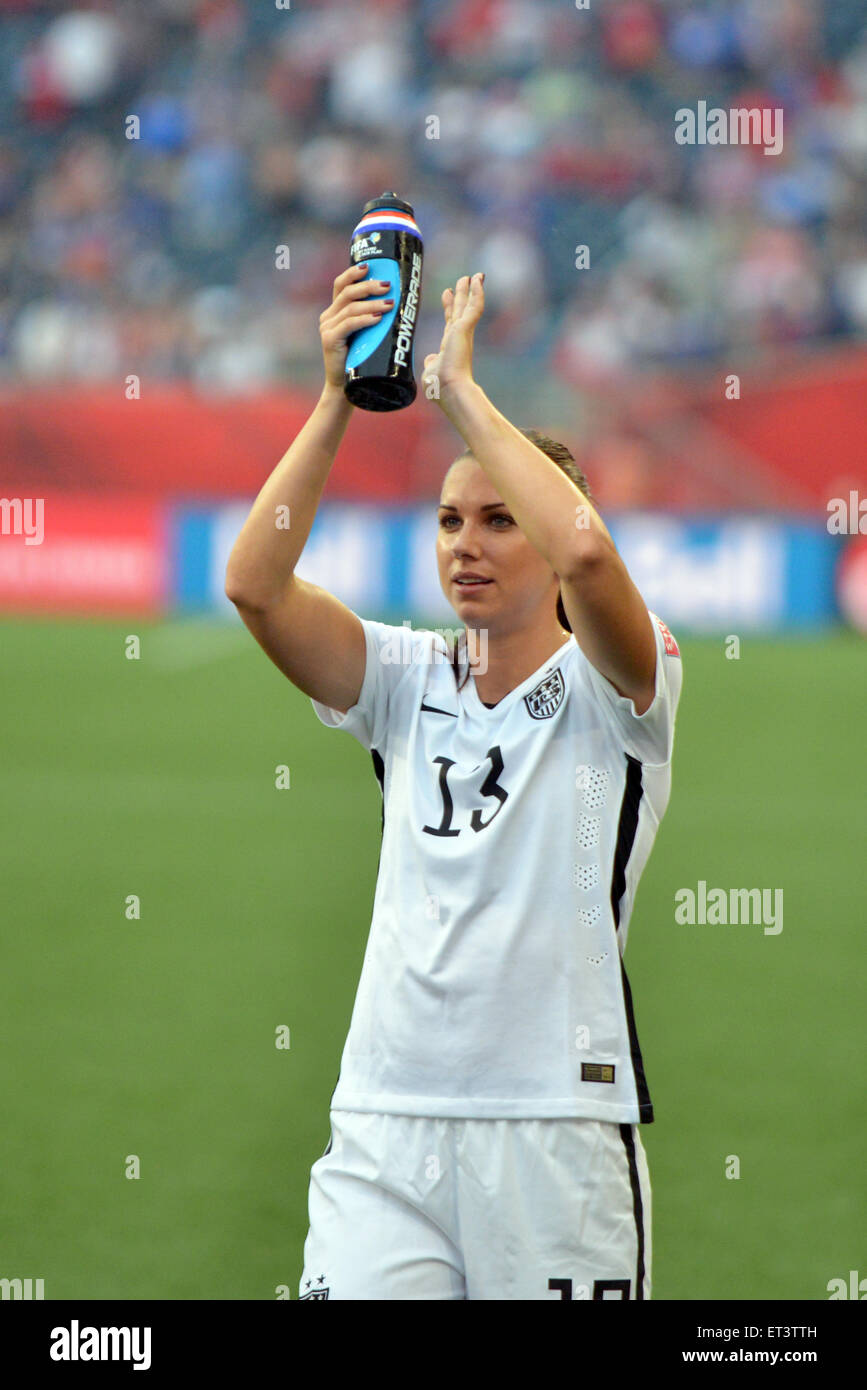 Alex MORGAN After The FIFA Womens World Cup Canada 2015 Group D Match Between USA And Australia