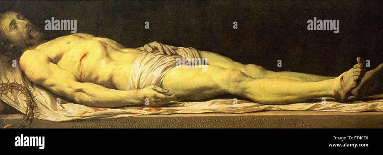 Philippe de Champaigne  The Dead Christ - Stock Image
