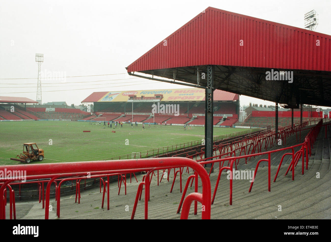 History goes under the hammer when the great Ayresome Park Auction takes place on 23rd April 1996. General views Stock Photo
