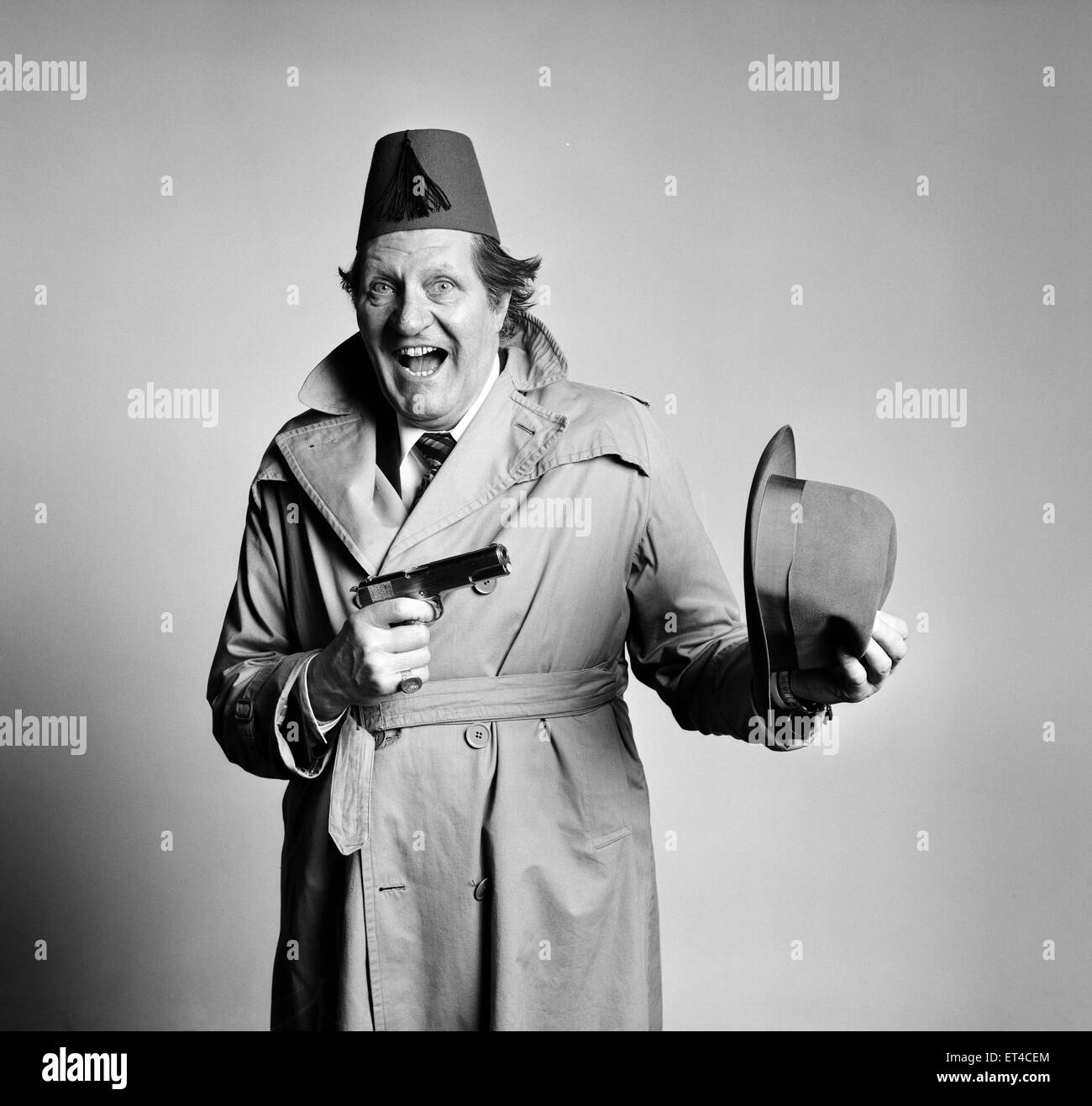 Tommy Cooper, Comedian, 19th January 1978. - Stock Image