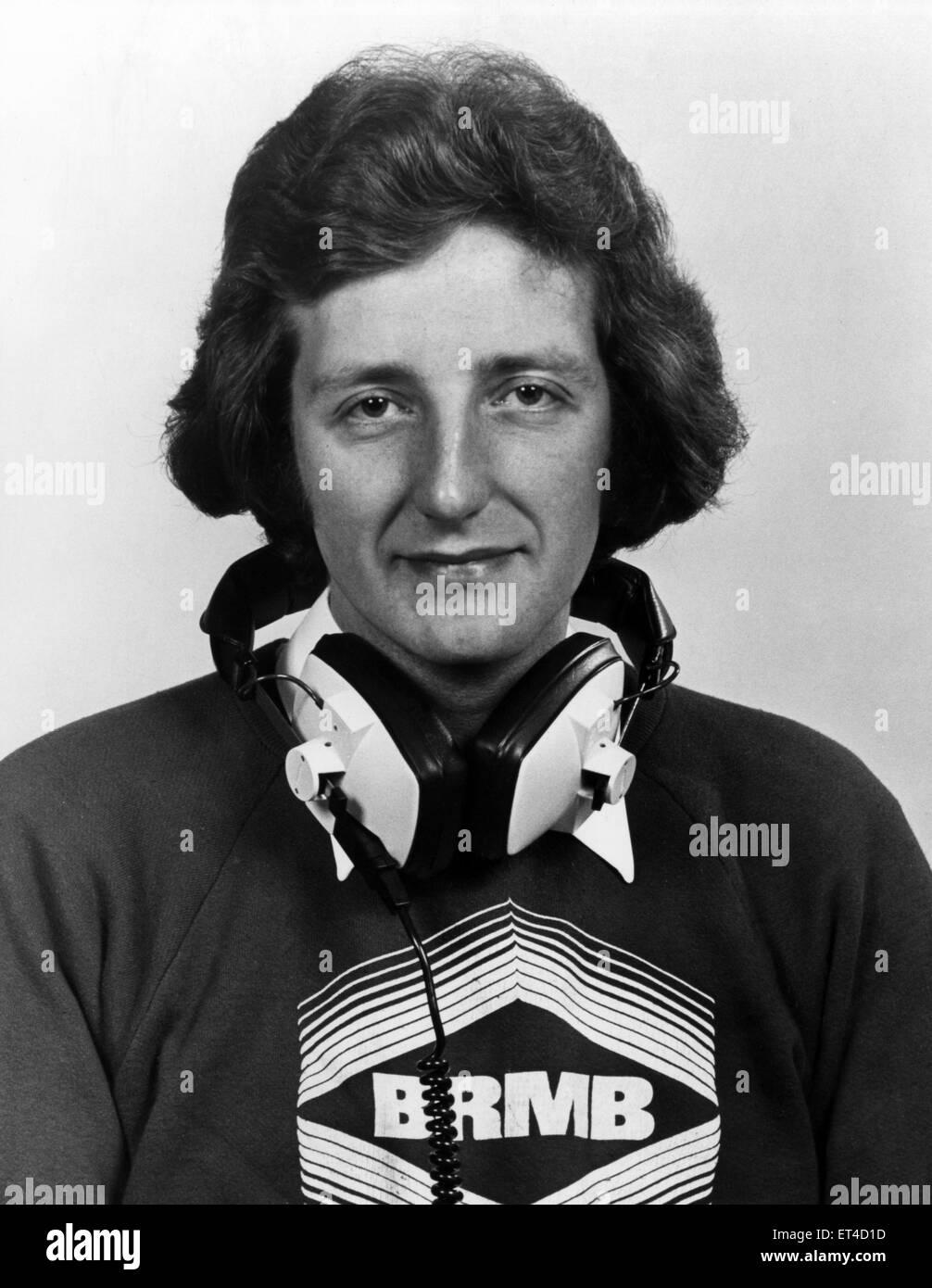 Nicky Steele Brmb Radio Presenter Circa 1975