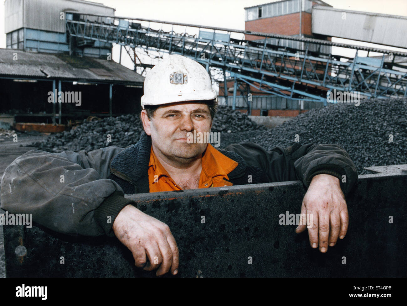 Monktonhall was one of the Scottish super pits sunk in the 1950's intended to supply the new generation of Power - Stock Image