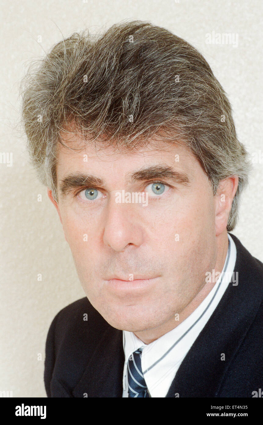 Max Clifford, Publicist, 31st March 1989. Stock Photo