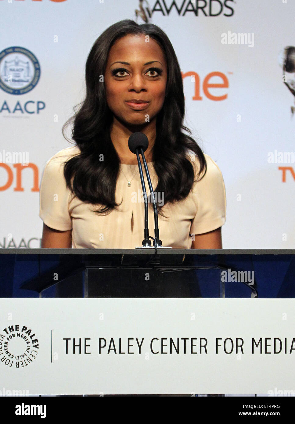 46th NAACP Image Awards - Nomination Announcement and Press Conference  Featuring: Nischelle Turner Where: Beverly Stock Photo