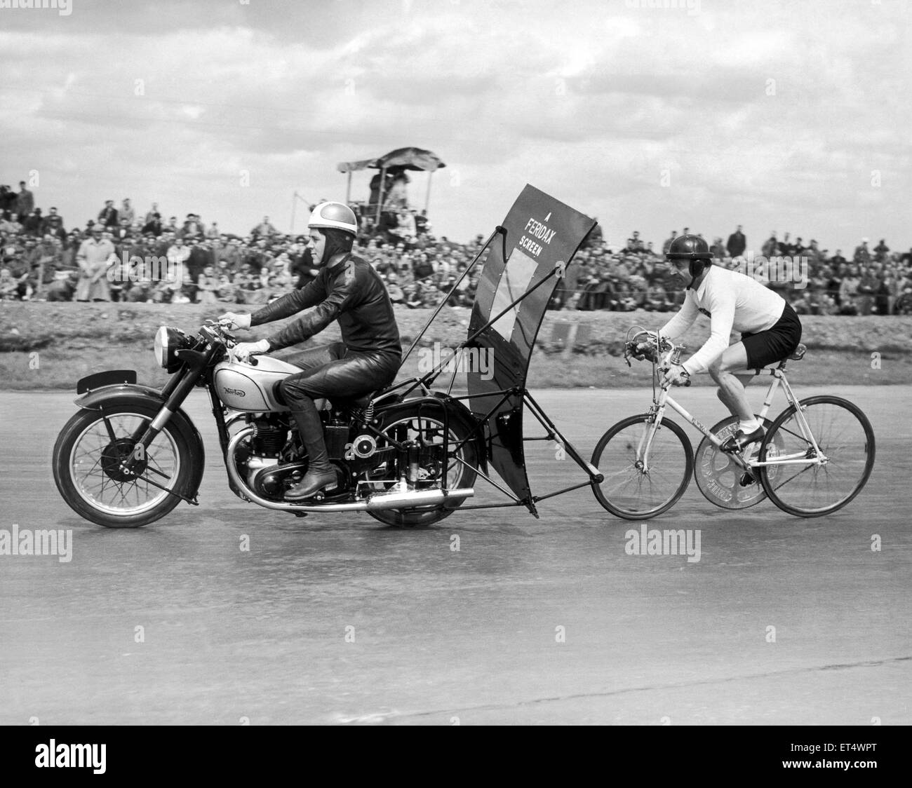 Mackeson Premier at the Crystal Palace race track, London. 9th August 1964. - Stock Image