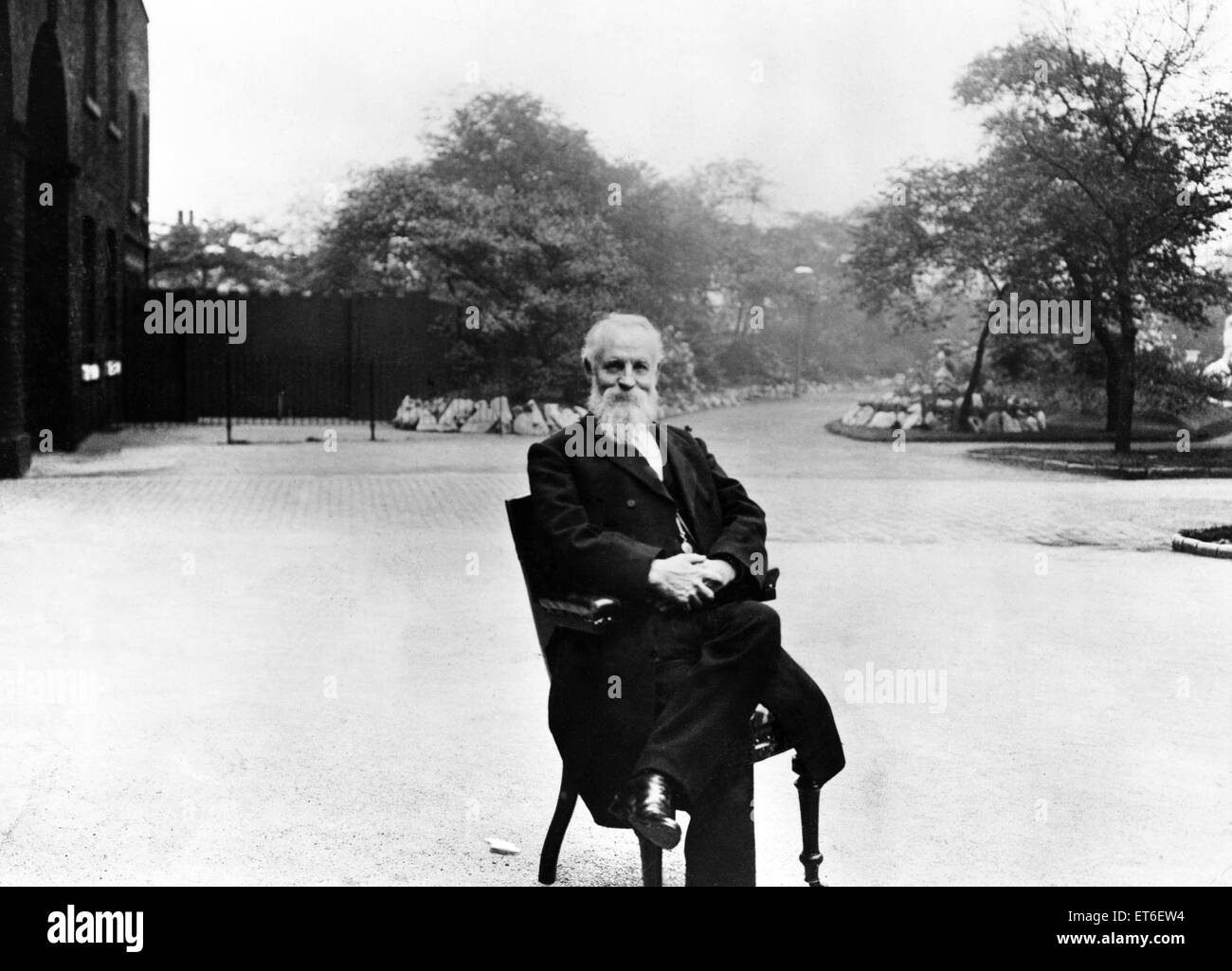 Richard Jennison, son of Belle Vue founder 'Old John'  pictured in Manchester circa 1906. - Stock Image